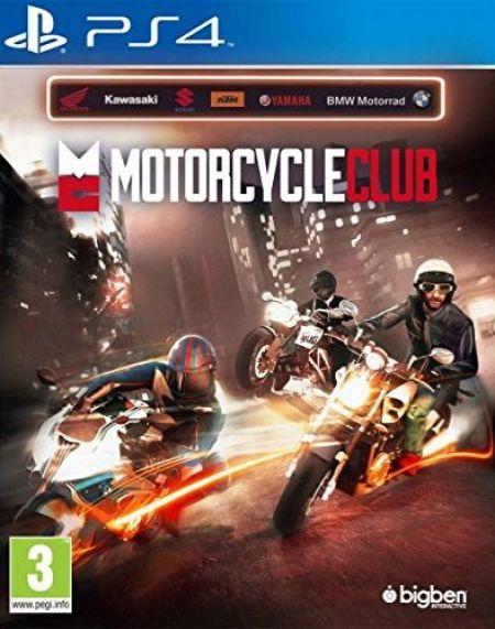 Echanger le jeu Motorcycle Club sur PS4