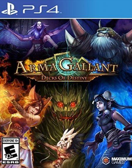 Echanger le jeu ArmaGallant: Decks of Destiny sur PS4