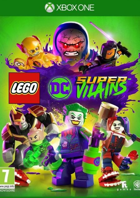 Echanger le jeu Lego DC Super-Vilains sur Xbox One