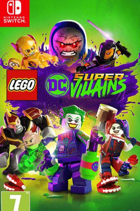 Echanger le jeu Lego DC Super-Vilains sur Switch