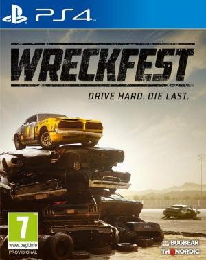 Echanger le jeu Wreckfest sur PS4