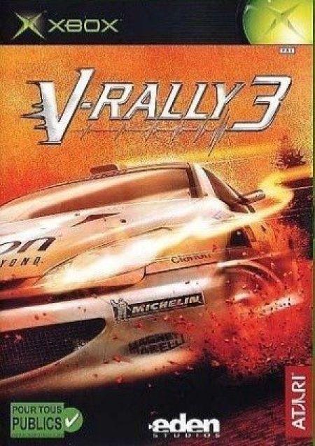 Echanger le jeu V-Rally 3 sur XBOX