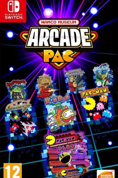 Echanger le jeu Namco Museum Arcade Pac sur Switch