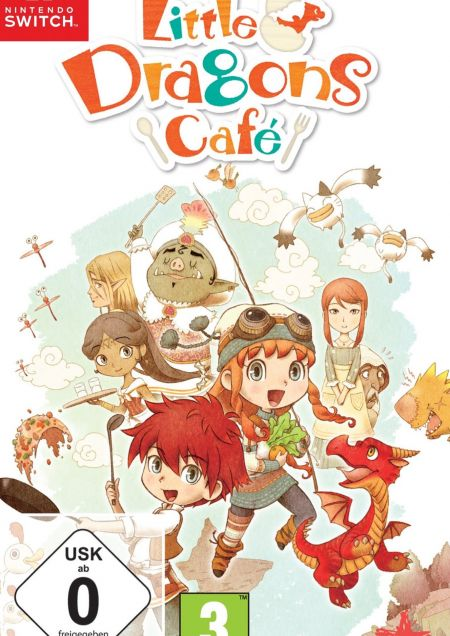 Echanger le jeu Little Dragons Cafe sur Switch