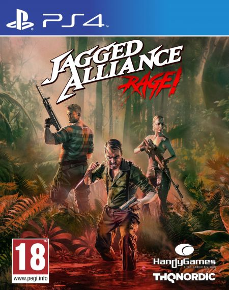 Echanger le jeu Jagged Alliance : Rage! sur PS4