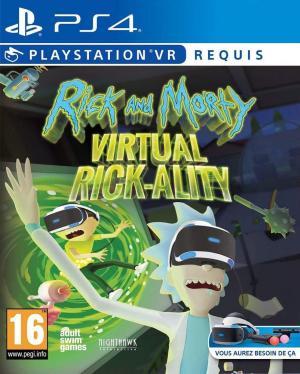 Echanger le jeu Rick and Morty: Virtual Rick-Ality (PS-VR Requis) sur PS4
