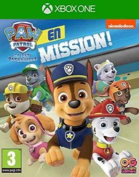 Echanger le jeu Paw Patrol : En mission! sur Xbox One