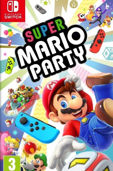 Echanger le jeu Super Mario Party sur Switch