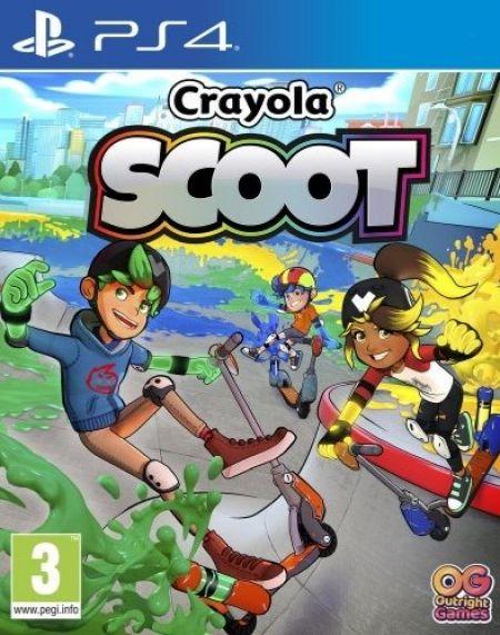 Echanger le jeu Crayola Scoot sur PS4