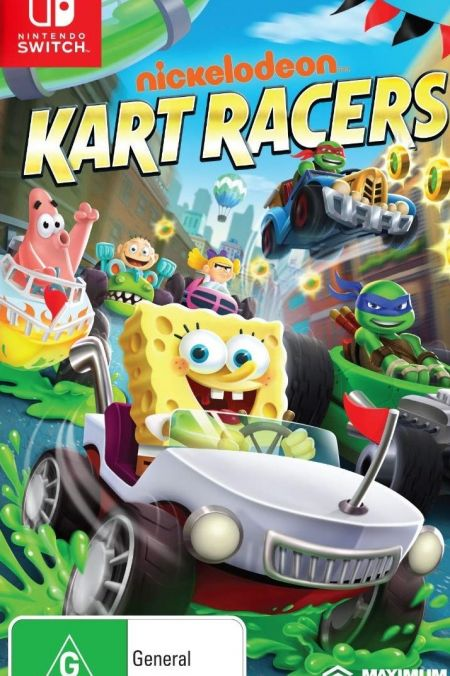 Echanger le jeu Nickelodeon Kart Racing sur Switch