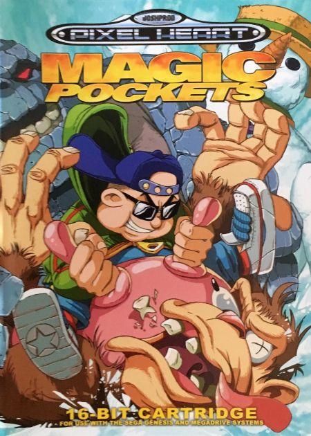 Echanger le jeu Magic Pockets sur MEGADRIVE