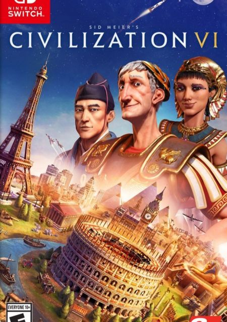 Echanger le jeu Civilization VI sur Switch