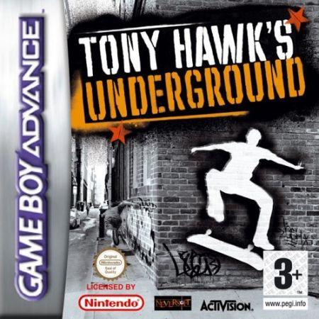 Echanger le jeu Tony Hawks Underground sur GBA