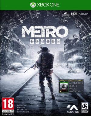 Echanger le jeu Metro Exodus sur Xbox One