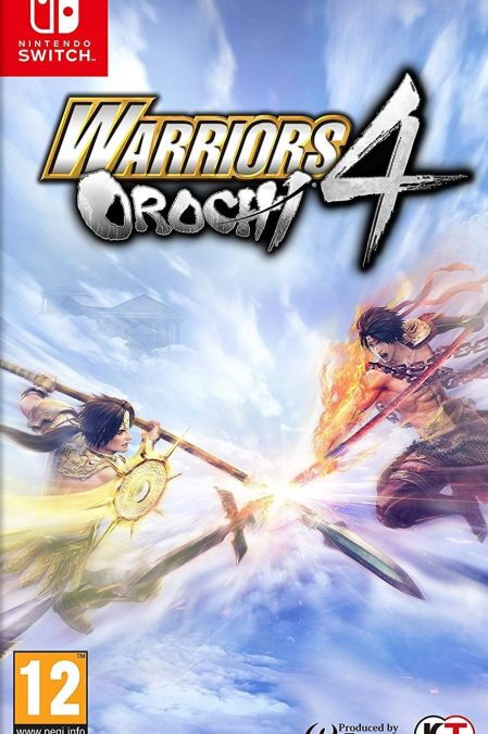 Echanger le jeu Warriors Orochi 4 sur Switch