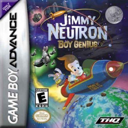 Echanger le jeu Jimmy Neutron Boy Genius sur GBA