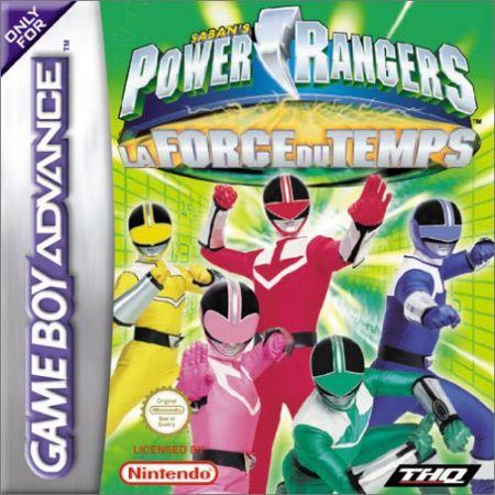 Echanger le jeu Power Rangers : La Force du Temps sur GBA