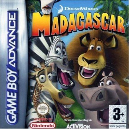 Echanger le jeu Madagascar sur GBA