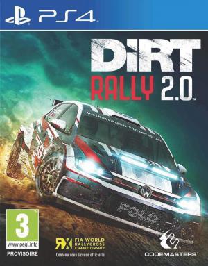 Echanger le jeu Dirt Raly 2.0 sur PS4