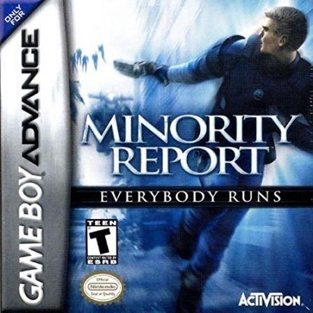 Echanger le jeu Minority report sur GBA