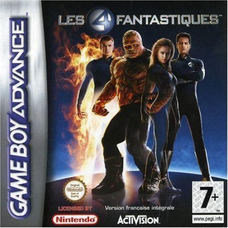 Echanger le jeu 4 Fantastiques sur GBA