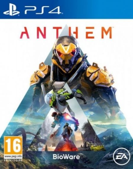 Echanger le jeu Anthem sur PS4