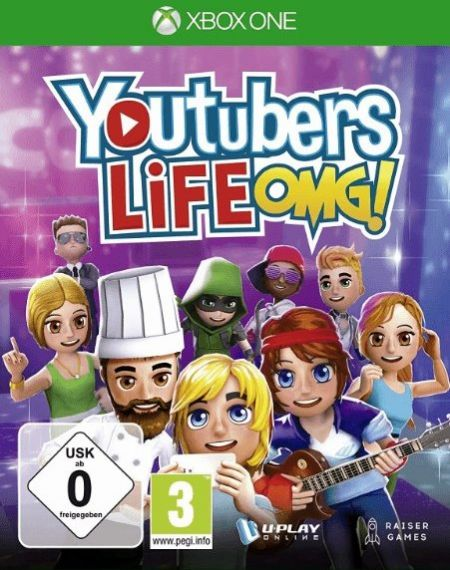 Echanger le jeu Youtubers Life OMG! sur Xbox One