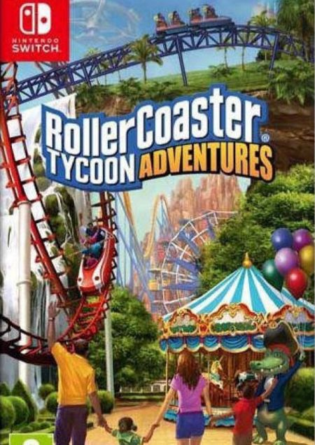 Echanger le jeu Roller Coaster Tycoon Adventures sur Switch