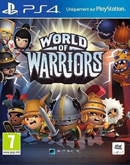 Echanger le jeu World of Warriors sur PS4