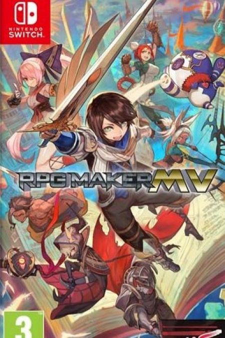 Echanger le jeu RPG Maker MV sur Switch