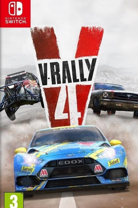 Echanger le jeu V-Rally 4 sur Switch