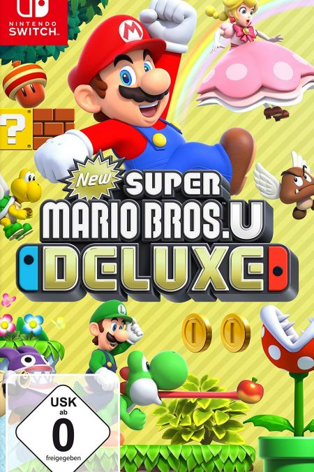 Echanger le jeu New Super Mario Bros. U Deluxe  sur Switch