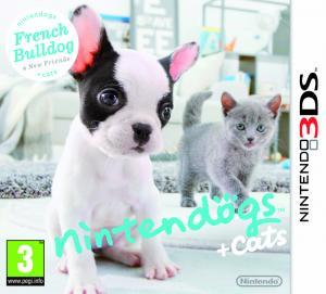 Echanger le jeu Nintendogs + Cats Bouledogue Français & ses Nouveaux Amis sur 3DS