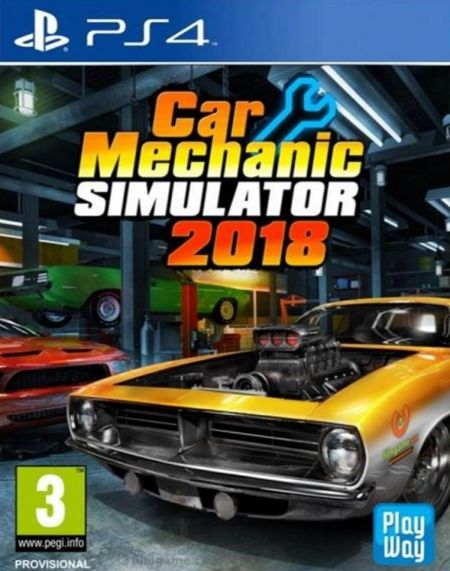 Echanger le jeu Car Mechanic Simulator 2018 sur PS4