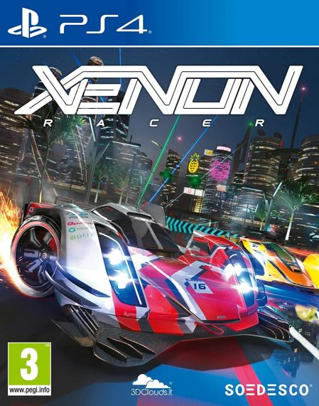 Echanger le jeu Xenon Racer sur PS4