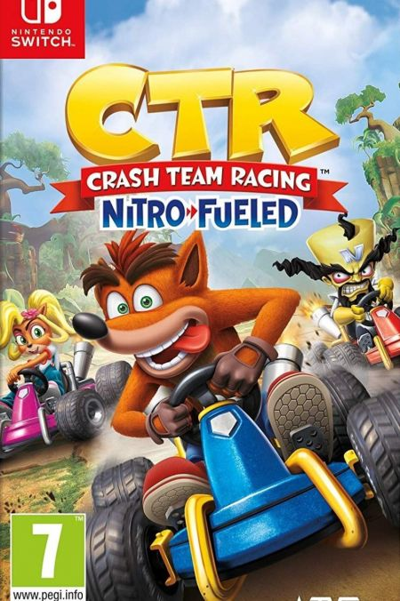 Echanger le jeu Crash Team Racing Nitro Fueled sur Switch