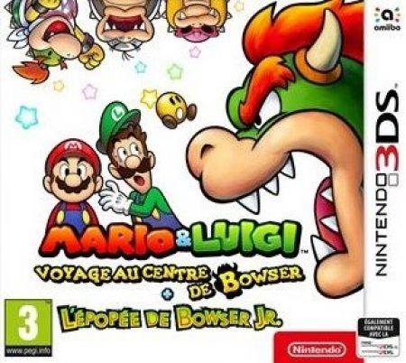 Echanger le jeu Mario & Luigi - Voyage au Centre de Bowser + l'Epopee de Bowser JR sur 3DS