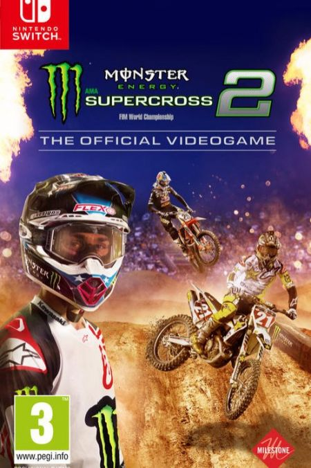 Echanger le jeu Monster Energy Supercross 2 sur Switch