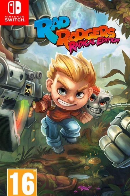 Echanger le jeu Rad Rodgers sur Switch