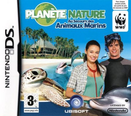 Echanger le jeu Planete Nature - Au Secours des Animaux Marins sur Ds