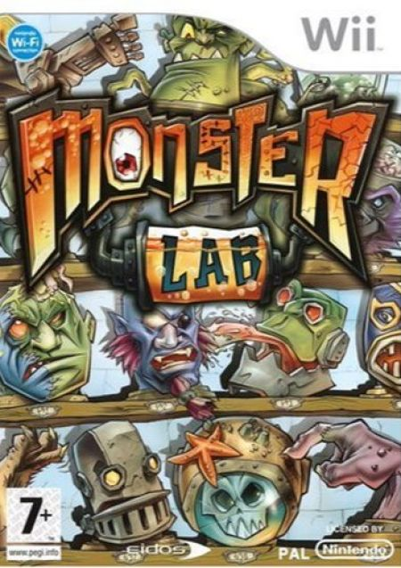 Echanger le jeu Monster Lab sur Wii