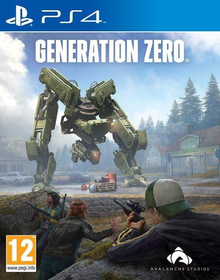 Echanger le jeu Generation Zero sur PS4