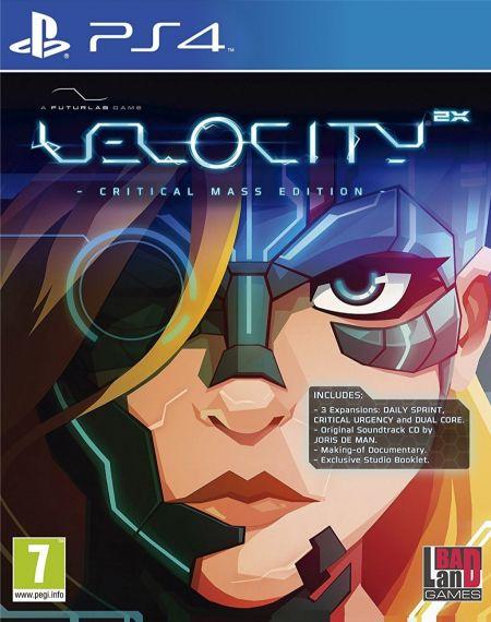 Echanger le jeu Velocity 2X sur PS4