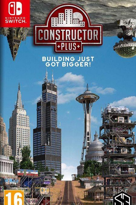 Echanger le jeu Constructor Plus sur Switch