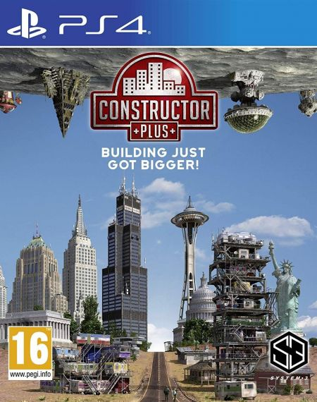 Echanger le jeu Constructor Plus sur PS4