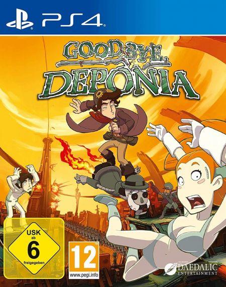 Echanger le jeu Goodbye Deponia sur PS4