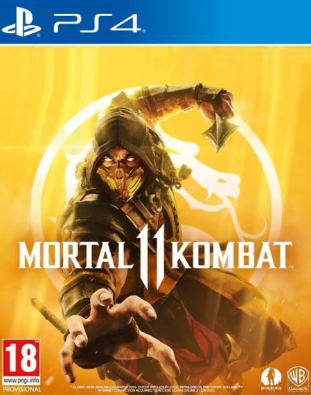 Echanger le jeu Mortal Kombat 11 sur PS4