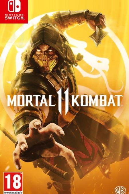 Echanger le jeu Mortal Kombat 11 sur Switch