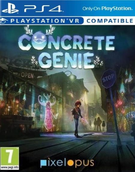 Echanger le jeu Concrete Genie (PS-VR Compatible)  sur PS4
