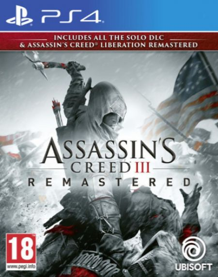 Echanger le jeu Assassin's Creed III - Remastered sur PS4